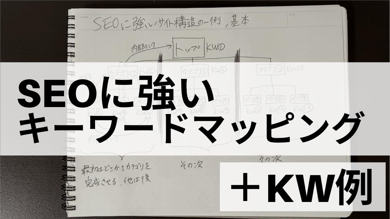 SEOのためのキーワードマッピング