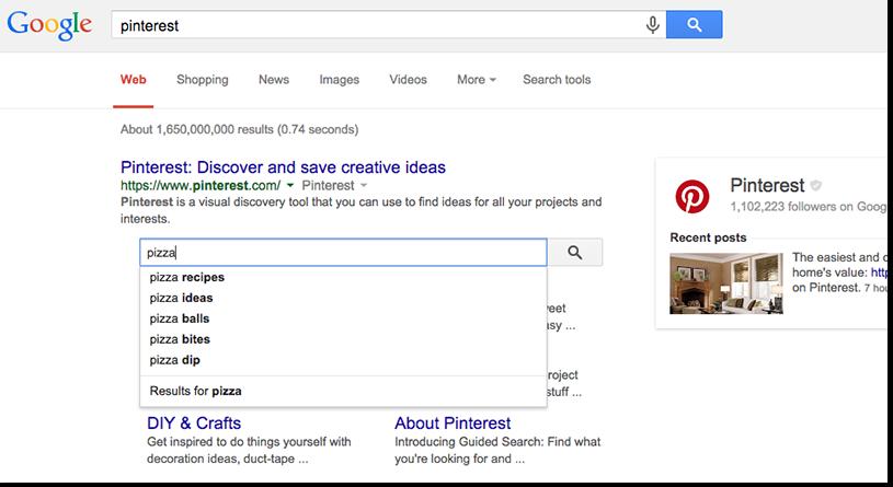 サイトリンクの検索ボックス